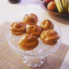Caramel & Cream Éclairs. flourflair.com #eclairs #vetrniky #caramel #cream #pastry #choux #chouxpastry #baking #bakingblog #foodblog #blogger #treats #sweettreat