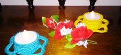 """Häkelanleitung Teelicht """" Little Flori """" Gibt es etwas Schöneres als einen kuscheligen Winter- oder Sommerabend? Dieses zauberhafte Teelicht sorgt für die richtige Stimmung. Ideal als Mitbringsel für Freunde und Verwandte. Sehr schnell gemacht. Alle A"""