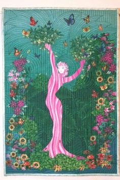 """Daphne,"" made in 2007 for the Hoffman Challenge.  Inspired by Erte."
