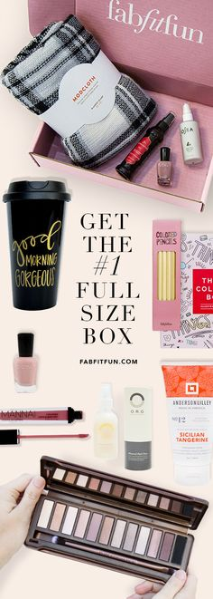 The FabFitFun box is here! Get over $200 of beauty, fashion + wellness products for $39.99 with code YES. That's over 80% off retail prices! Plus, free shipping in the US.
