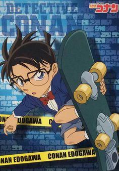 Detective Conan scene crime