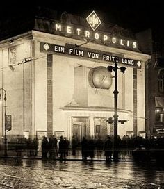 An original screening of Metropolis