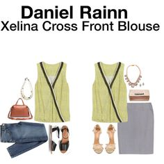 Untitled #12519 by hanger731x on Polyvore featuring polyvore, fashion, style, Badgley Mischka, Madewell, Banana Republic, Venessa Arizaga and J.Crew