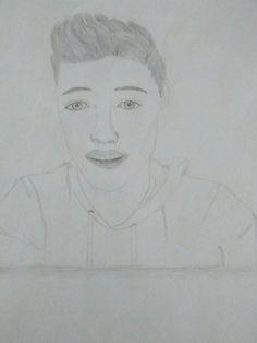 I drew Cameron Dallas ❤❤