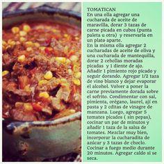 """325 Me gusta, 20 comentarios - Virginia Demaria (@virginiademariaoficial) en Instagram: """"Tomaticán #ComidaCasera"""" Chilean Recipes, Chilean Food, Stew, Crockpot, Chili, Favorite Recipes, Meals, Cooking, Instagram"""