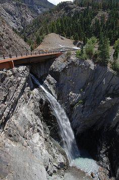 Bear Creek Falls, Million Dollar Highway Colorado