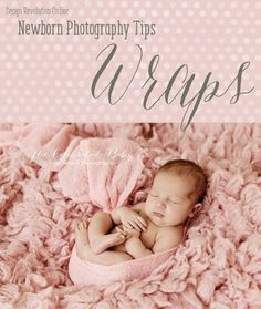Newborn photography wraps can be intimidating. There are many ways to wrap the…