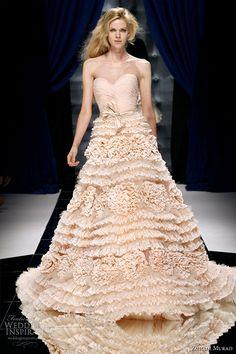 Zuhair Murad Fall/Winter Couture #bridal #wedding #gown