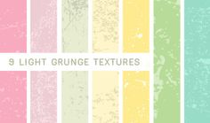 Light Grunge Textures by PaperArt on Creative Market
