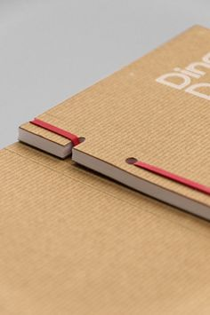 Absolutely beautiful. Rubber band binding. Man I love good design.