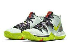 Nike Kyrie 5 Mamba Mentality Mens Basketball Shoes 11 White Cyber AO2918-102 #Nike #Sneaker #ActivewearCasual