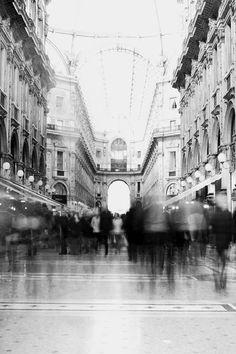 la galleria, Milano