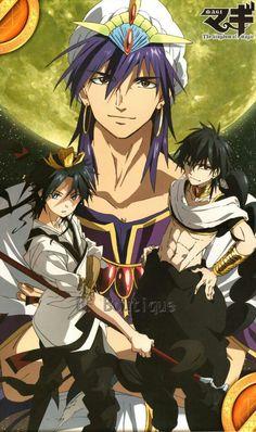Magi Judal, Magi Sinbad, Anime Magi, Manga Anime, Hakuryuu Ren, Magi Kingdom Of Magic, Aladdin Magi, Fan Art, Cute Anime Boy