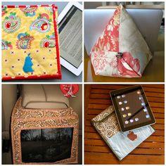 4 handmade iPad sewing tutorials