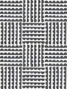 cement tile Noir Vague | Nordic Day Anna Backlund House of Rym 20 x 20 cm