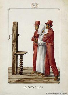 AJUSTICIADO. Lozano, José Honorato 1821- — Dibujo — 1847