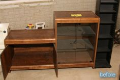 Kidding Around - old stereo cabinet into.....