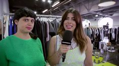 Fashiondaily- Interview Lilou in Berlin at CAPSULE- july 2014