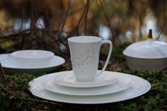 Delicate china Lys from Norwegian Wik&Walsøe.