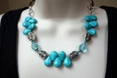 """18"""" Magnesite Toggle Necklace - $36.50 ~ LAST ONE!"""