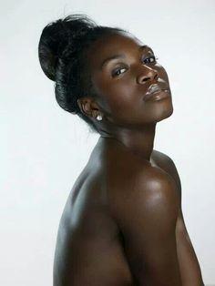Chocolate skin love it