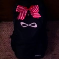 Nfinity bag with my battle bow:)