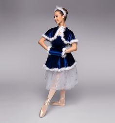 """Adult """"Skater's Waltz"""" Costume Set - Style Number: TH6003 *teacher item #discountdance #holiday #costume"""