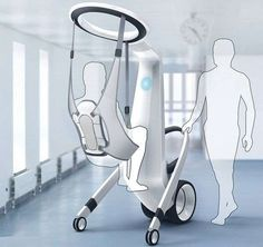 Patient-Lifting Androids - The 'Medirobot' Medical Robotic Assistant Eliminates Discomfort