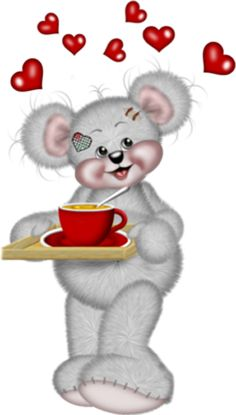 Glad you stopped by. Have some tea and stay awhile. Teddy Images, Bear Images, Good Morning Picture, Morning Pictures, Gif Pictures, Cute Pictures, Animiertes Gif, Cute Teddy Bears, Tatty Teddy