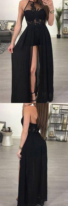 Prom Dresses Chiffon #PromDressesChiffon, Prom Dresses Black #PromDressesBlack, Sexy Prom Dresses #SexyPromDresses, Prom Dresses 2018 #PromDresses2018, Prom Dresses Long #PromDressesLong