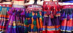 Tribal Dance Tassel Belts
