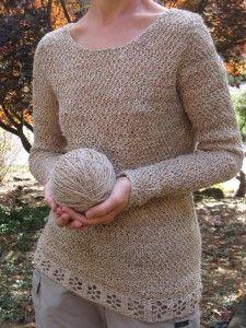 Stinging Nettle sweater full