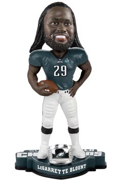a77f80c94 LaGarrette Blount Philadelphia Eagles Super Bowl LII Champions Bobblehead  Eagles Steelers