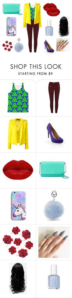 #redlips by fashionboutique8 on Polyvore featuring Alexandre Vauthier, River Island, BCBGMAXAZRIA, Kate Spade and Winky Lux