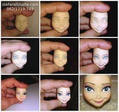 make up Elsa Frozen - Stefanelli Torte