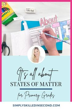 Teach your kiddos all about different states of matter with this Tab-Its and Flip Flap books! Perfect for any science activity, it's guaranteed to be educational, rigorous, and fun to complete! Primary Teaching, Primary Classroom, Classroom Resources, Teacher Resources, Literacy Games, Teaching Activities, Fun Learning, Teaching Ideas, Science Curriculum