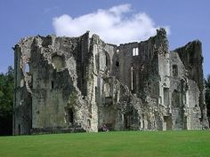 Old Wardour Castle in southern england!