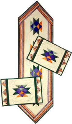 I Love LOVE THIS, and I want to make it!   From Southwest Decoratives Kokopelli Quilting company.