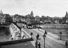 Flashback... Maastricht tram around 1900 - Maastricht univerCity - #Mtricht Mtricht.com