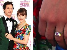 See the engagement ring: Joanna Newsom's solitaire ring is stunning!