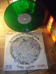 ABBA Boney M BACCARA Radio Capital GREEN VINYL MEXICAN PROMO LP 1978