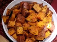 Rosemary Roasted Sweet Potatoes Recipe - Allthecooks.com