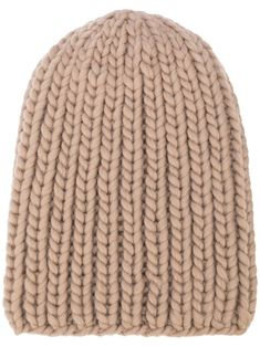 I Love Mr Mittens Ribble ribbed-knit Beanie - Farfetch I Love Mr Mittens, Taupe, Beige, Knit Beanie, Merino Wool Blanket, World Of Fashion, Luxury Branding, Women Accessories, Neutral
