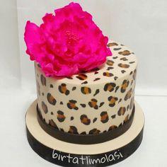 Leopar pasta leopard cake