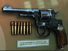 Russian Nagant Revolver: hardest darned trigger pull you ever did see!