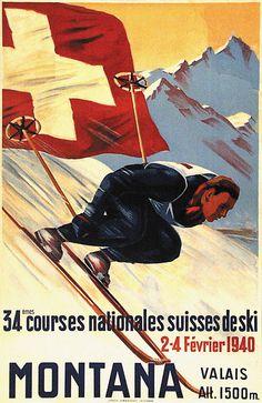 1940 Courses Nationales Suisses de Ski, Montana