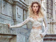 """""""Morgan"""" - Haute Couture Brautkleid der Kollektion """"Ivory Tower"""" von Galia Lahav im Store in Hamburg.  #HauteCouture #Hamburg #Brautkleid #Hochzeit #wedding"""