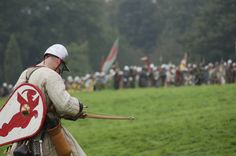 Norman Crossbowman A Norman about to shoot at the English lines.taken at a re-enactment of the battle of hastings, this took place at the very same place as the real battle English Lines, Norman Knight, Norman Conquest, 11th Century, Age, Warfare, Troops, Knights, Galleries