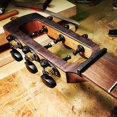 "Berdah Guitars on Instagram: ""Nut... #guitarsofinstagram #guitar #guitarmaking #ukulele #pictureoftheday #baritone #ukulele # #guitarshop #bench #building #guitarist…"" Classical Guitars, Ukulele, Nerf, Instagram"
