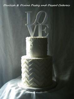 Personal Wedding cake for Bride & Groom
